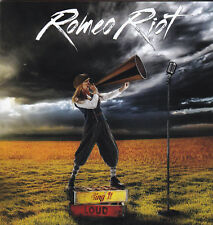 ROMEO RIOT - SING IT LOUD (*NEW-CD, 2017, Kivel Records) Hair Glam Melodic Metal