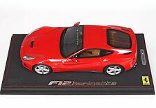 Ferrari F12 Berlinetta 70° ann. Rosso Corsa lim.ed. 24 pcs 1/18 P1841RC16 BBR