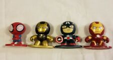 Marvel Subs 2012 2013 Lot Of 4 Mini Figures Iron man Captain America Spiderman