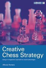 Creative échecs startégie par Romero, Alfonso Livre de poche 9781901983920 NE