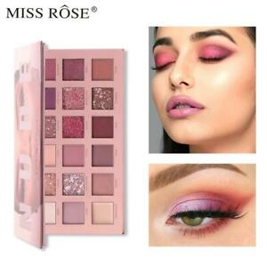 New Nude Miss Rôse Eyeshadow Palette 18 Colours