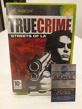 Xbox True Crime Streets Of LA PAL ottime condizoni average conditions