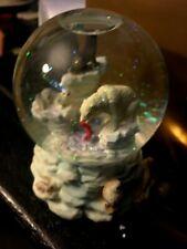 Discovery Channel Store Arctic Animals Music Box Snow Globe Original Box NICE!