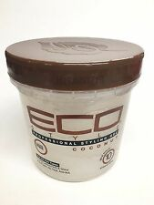 New ECO Styler Perfessional Styling Coconut Gel Maximum Hold For All Hair 16 Oz.