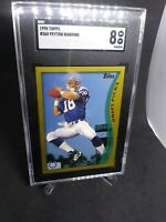 1998 Topps Peyton Manning RC Colts #360 SGC 8 NM-MT(COMP TO PSA)