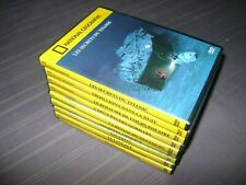 NATIONAL GEOGRAPHIC  LOT 9 FILMS EN DVD COULEUR