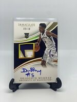 2016 Panini Immaculate Collegiate DEJOUNTE MURRAY RC AUTO 9/10 ROOKIE Rc
