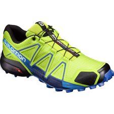Zapatillas de deporte azul de malla con cordones