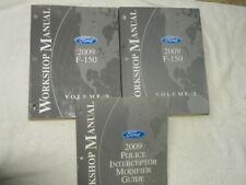 2009 Ford F 150 Workshop Manuals