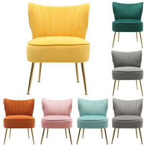 Occasional Oyster Wing Back Cocktail Armchair Lounge Living Bedroom Chair Sofa