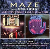 Maze / Frankie Bever - Live in New Orleans / Live in los Angeles: Deluxe [New CD