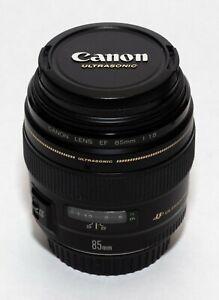 Canon 85mm 1.8 usm lens EF mount full-frame