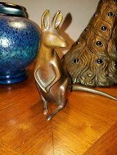 Loet Vanderveen Signed Bronze Kangaroo Sculpture Figure Limited 25/250 MCM