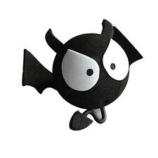 Cute Big Eyes BAT Evil Aerial Ball Car Antenna Topper Cor Truck SUV Decor BallD*