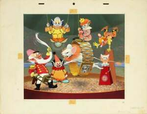 Original Bill Layne Disney Animation Artist and Pin Up Illustrator artwork