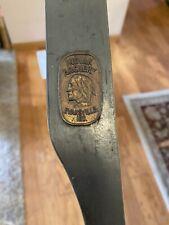 "Vintage Indian Archery Recurve Bow 64"" 55# Draw bear deerslayer wood Trad"
