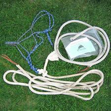 Parelli Blue Rope Halter, 12 Ft Lead Line & 19 Ft Training Line Natural Horse