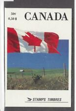 CANADA LOT KSK(442233) # 1189c MNH BOOKLET FLAGS BOOKLET PANE CAT VALUE $50