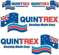 QUINTREX - DECAL SET OF 4 - BOAT DECALS
