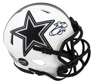 Cowboys Emmitt Smith Authentic Signed Lunar Speed Mini Helmet BAS Witnessed