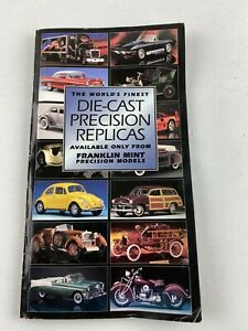 Franklin Mint Catalog All Scales Die-Cast Precision Models Cars - 43 Pages