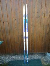 "Ready to Use Cross Country 75"" Long ELAN KELVAR 195 cm Skis with Tyrolia Binding"
