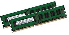 2x 4GB 8GB Samsung RAM Speicher DIMM DDR3 1333 Mhz PC Arbeitsspeicher 240 pin