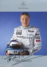 Mika Häkkinen Fankarte 2000 Rennfahrer Rennsport Motorsport Mercedes Formel 1