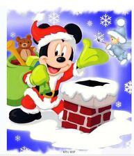 Christmas Mickey-Disney-Fabric Bathroom Shower Curtain Liner-180*180cm-