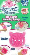 Hog Wash Scrubbing Sponge As Seen On TV Bonus Super 6 Pack Kitchen Scruber Pad