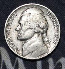 1939-P (Circulated) Jefferson Nickel Free Shipping Satisfaction Guaranteed