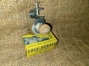 NOS Vintage Original Cole Accessory FOG LIGHT Switch Lite Lamp gm ford chevy