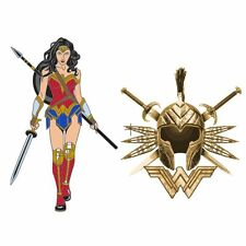 Wonder Woman 2017 Edition Exclusive Pin Set (2 pack)