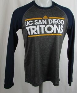 UC San Diego Tritons NCAA Adidas Men's  Long Sleeve Shirt