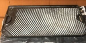"""Le Creuset Giant Grill Pan~ Reversible Griddle  10""""×18-1/2 3/4"""""""