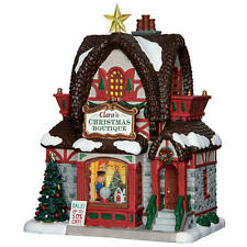 Coventry Cove Lemax Christmas Village Building Clara's Christmas Boutique Store