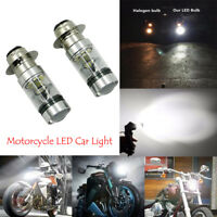 2x H6 100W LED Headlight High Light Bulb Car LED Headlights For Yamaha Upgrade