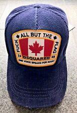 DSQUARED2 F/W 2015 FUCK ALL BASEBALL CAP HAT CAPI HUT KAPPE MÜTZE CAPELLO CANADA