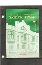 pk22128:Stamps-Canada #BK349 University of Saskatchewa 8 x 52 cent  Booklet -MNH