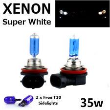 H8 H11 Super Blanco Xenon 35w Bombillas Niebla DRL diurna HID 6000K 12V BMW AUDI FORD