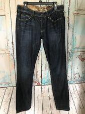 Rich & Skinny Phantom Skinny Jeans Women's Size 28 Mission Dark Wash Denim D7