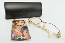 Cazal Glasses Mod. 1013 Col. 930 Deluxe Eye Frame Lunettes Gold Gafas + Case NOS