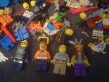 Lego Mini Figure Lot With Some Accessories Nice Lot!
