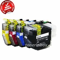 4 pack LC3019 XXL Ink Cartridge for Brother LC3017 MFC-J5330dw J6530dw J6930dw