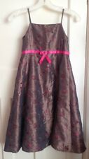 Gorgeous Brown & Pink Dress - Party - Wedding - Christmas - Age 7-8 yrs