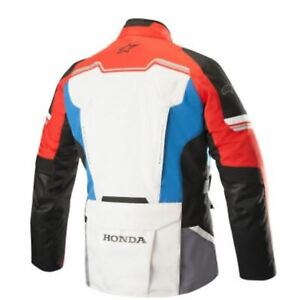 ALPINESTARS HONDA ANDES V2 DRYSTAR® JACKET - GREY/RED/BLUE - SMALL 3207418-977-S