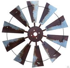 30 Inch Rustic Windmill Art