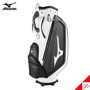 Mizuno 2021 RB Limited 003 Men's Golf Caddie Cart Bag 9.5in 5Way 9.5lb PU- White