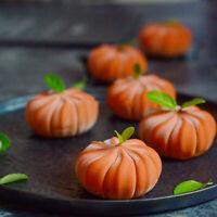 3D Pumpkin Silicone Cake Mold 6 Cavity Mousse DIY Dessert Chocolate Mould