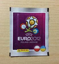 """BUSTINA SIGILLATA FIGURINE PANINI """"EURO 2012"""" - BORDO GRIGIO - POLONIA/UCRAINA"""